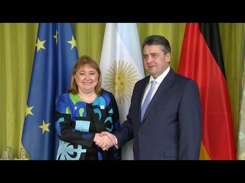 La canciller Susana Malcorra asiste a la primera reunión de ministros del G20