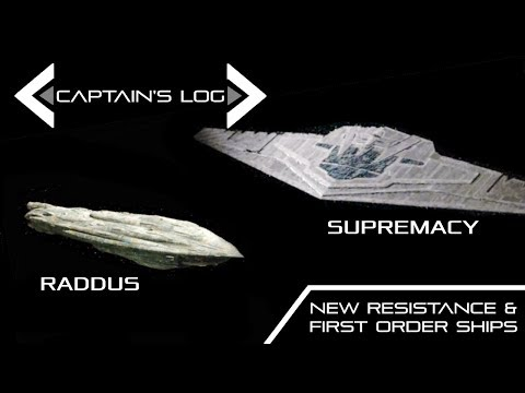 Star Wars: Snoke and Leia's New Flagships. - Spacedock Captain's Log