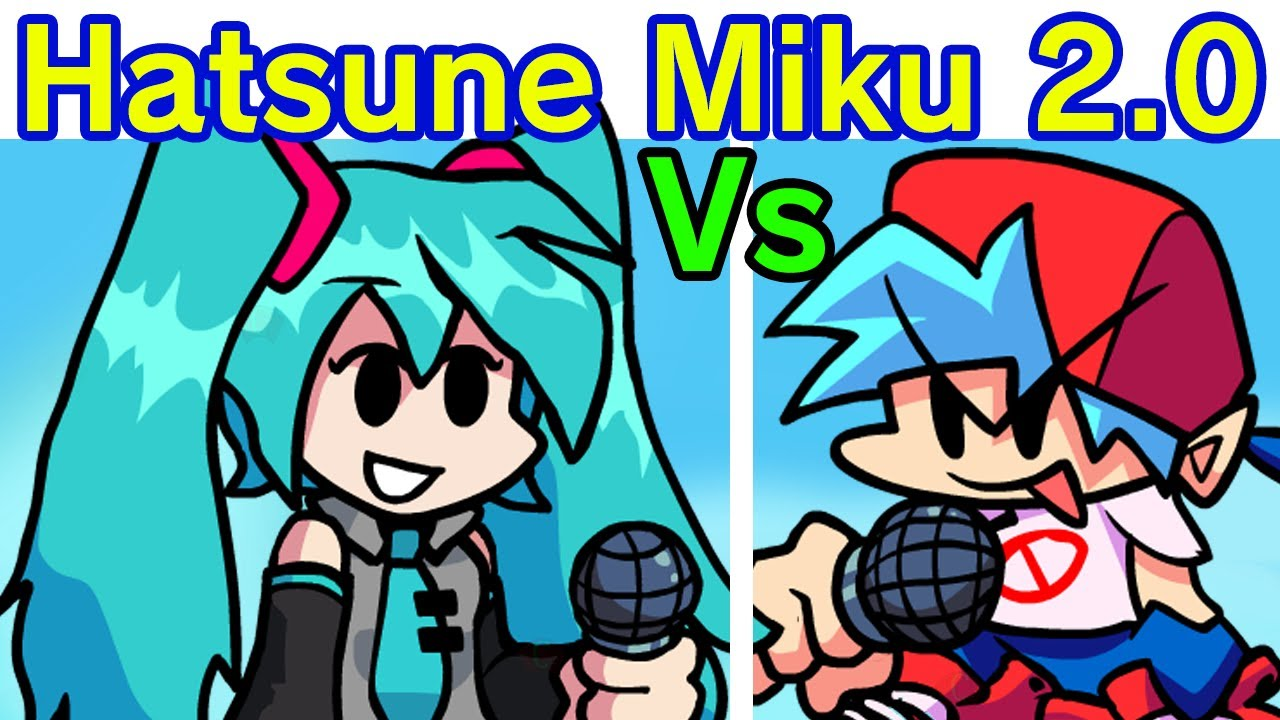 Friday Night Funkin' VS Hatsune Miku 2.0 FULL WEEK (FNF Mod/Hard) (Miku Concert/Remastered) HD - download from YouTube for free