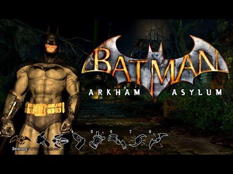 Batman: Arkham Asylum (PC) - All Gadgets Demonstration - [Демонстрация всех гаджетов]