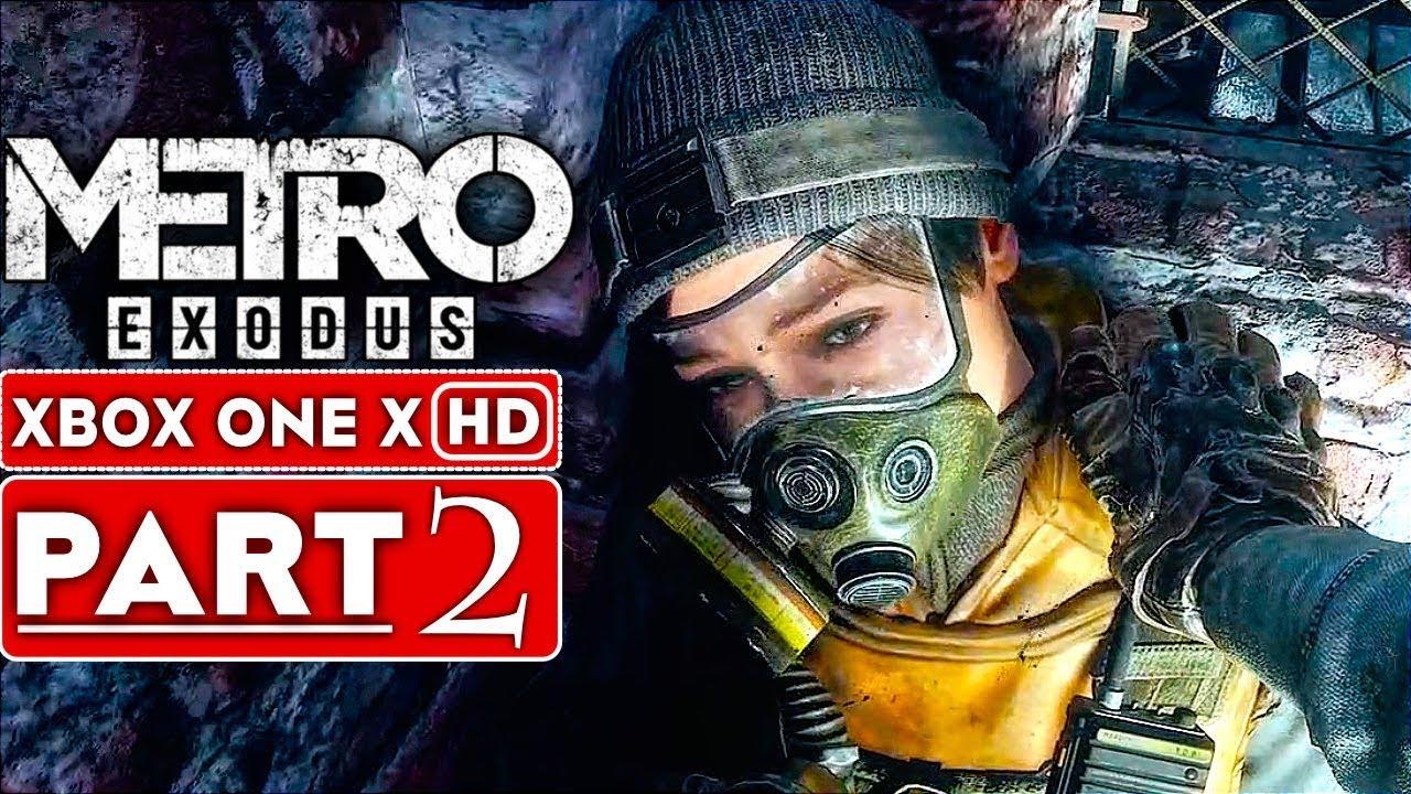 METRO EXODUS Gameplay Walkthrough Teil 2 [1080p HD Xbox One X] - Kein Kommentar + video