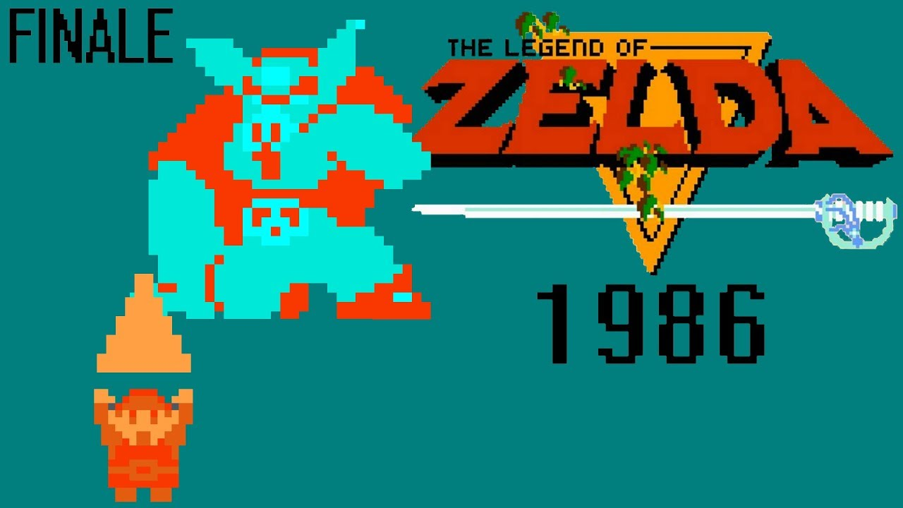 Ganon Goes Down The Legend Of Zelda 1986 Playthrough Pt 14 Finale Gameplay Let S Play