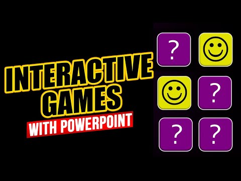 Interactive Games with Triggers in PowerPoint - Download and Animation Tutorial