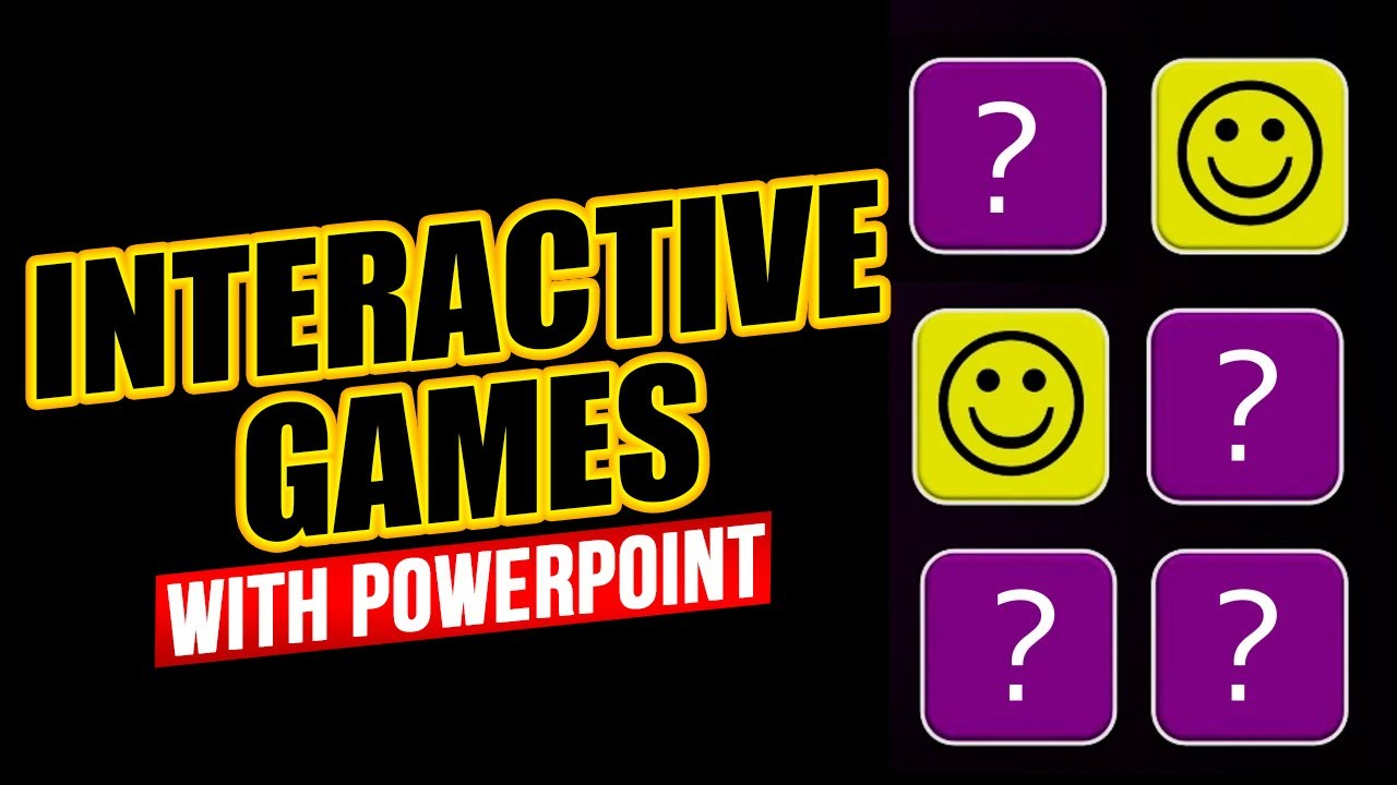 Interactive games with triggers in powerpoint download and youtube premium toneelgroepblik Images