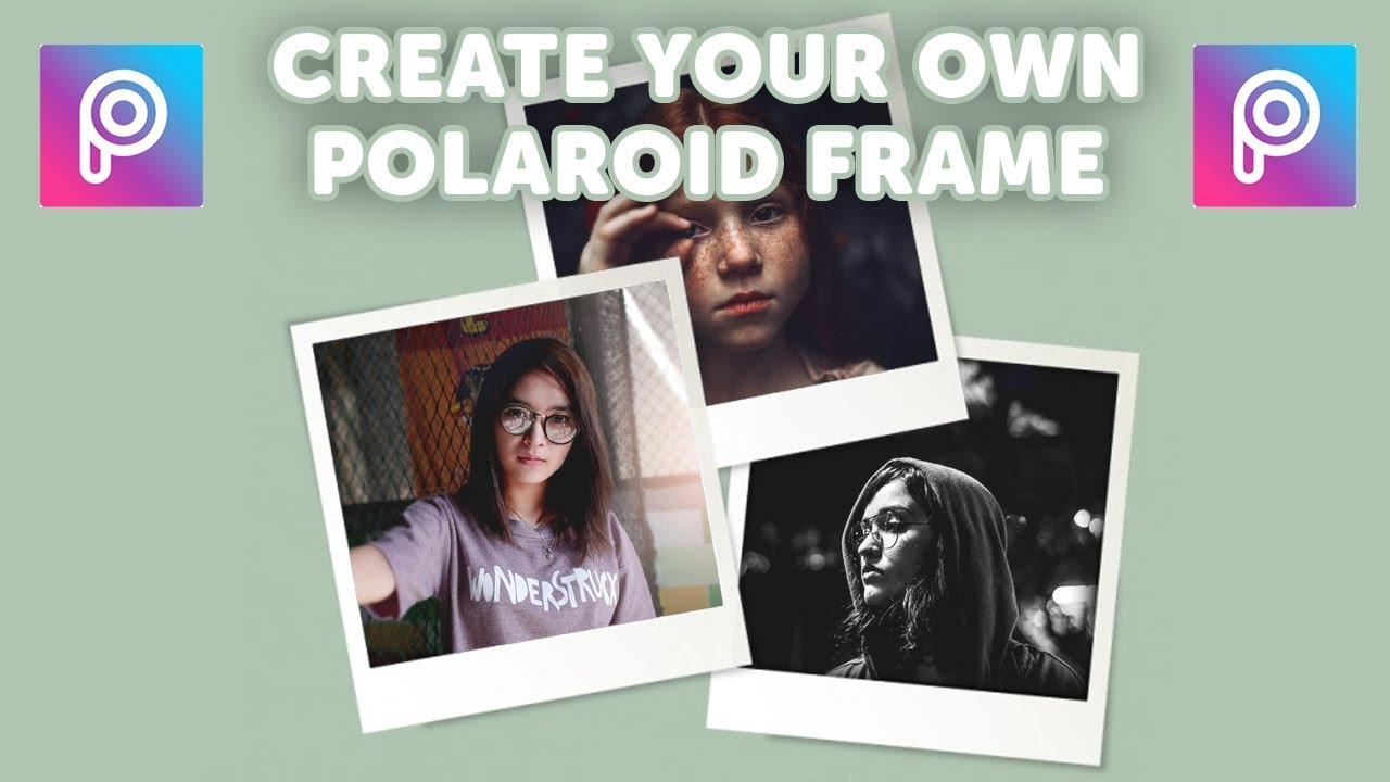 How To Make Polaroid Frame In Picsart Picsart Tutorial Youtube