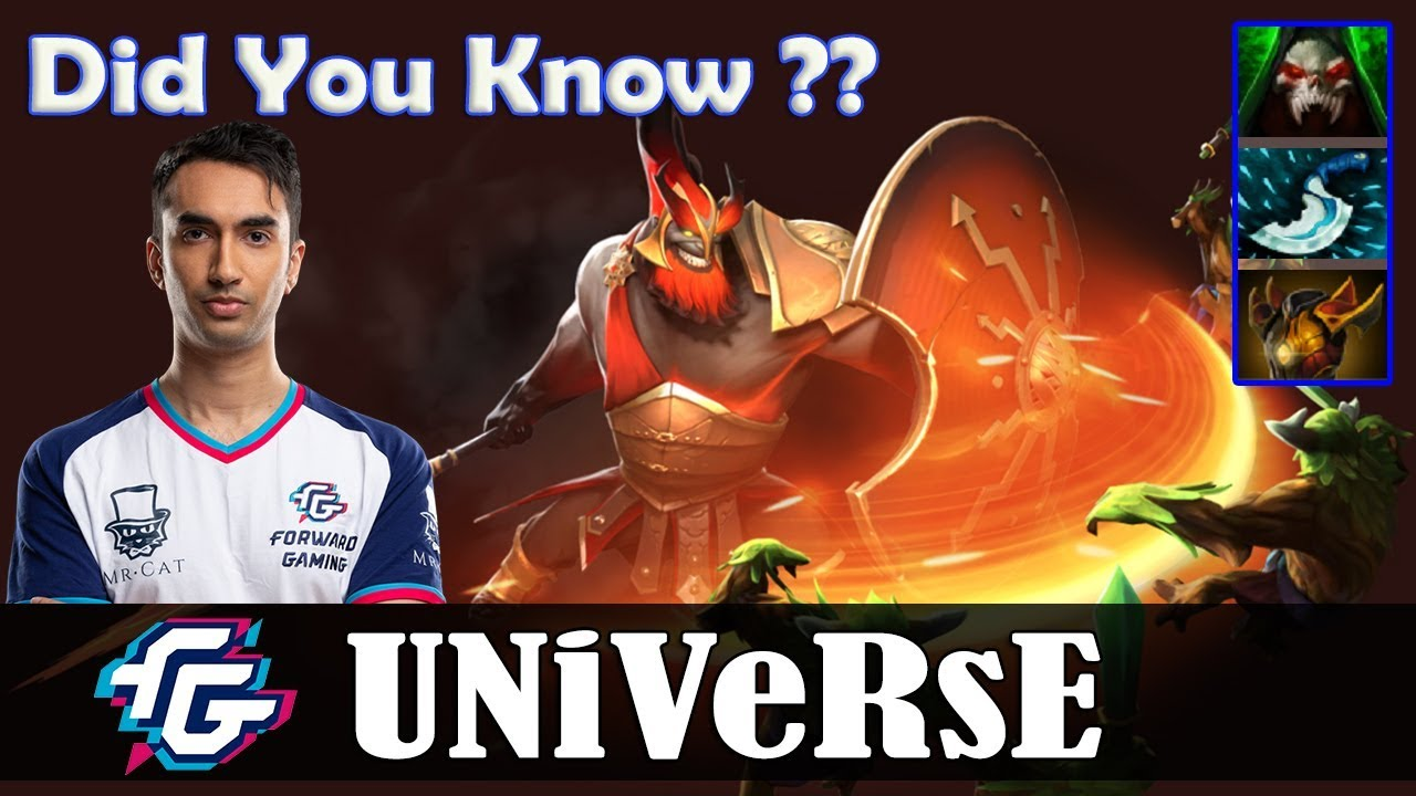 Universe - Mars Offlane | Did You Know ? | Dota 2 Pro MMR Gameplay