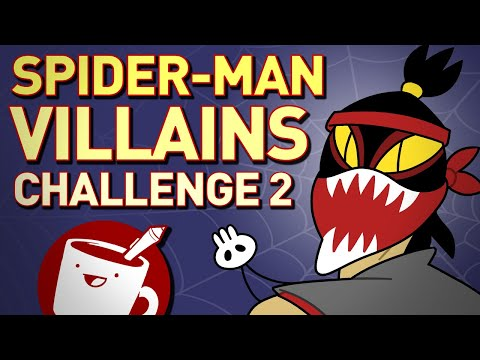 artists-draw-spider-man-villains-(that-they've-never-seen)