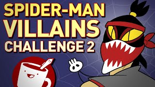 Artists Draw Spider-Man Villains (That They've Never Seen)