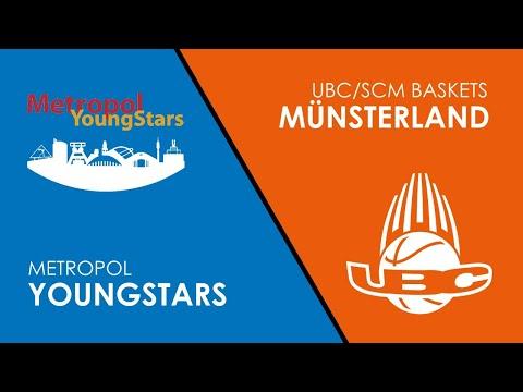 JBBL PLAYOFFS LIVE: Metropol YoungStars vs. UBC Münsterland