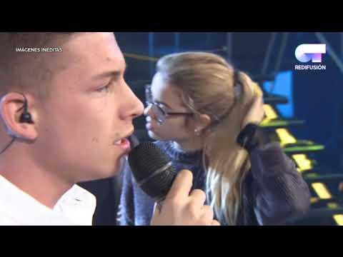 Los chicos llegando a la academia a ensayar la Gala de Eurovisión y Ensayos