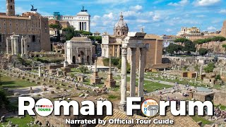 Roman Forum Guided Tour - Narrated by Official Tour Guide