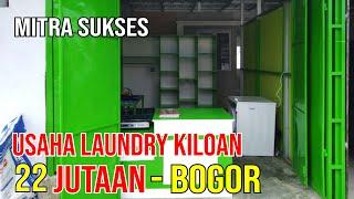 Review Paket Usaha Laundry Kiloan Bogor Jawa Barat | Sb Pemula #8