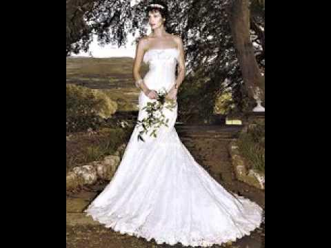 Irish lace wedding dresses - YouTube