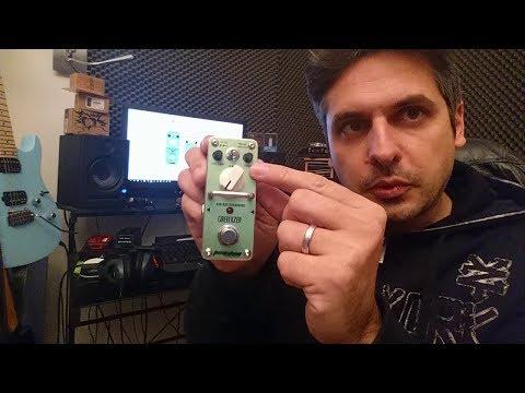 Test : pédale d' overdrive Greenizer TOM'SLINE ENGINEERING