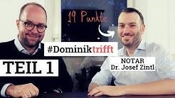 14 Punkte im Examen! #Dominiktrifft Notar   TEIL 1