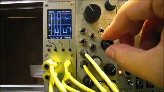 Demo of Mannequins Mangrove VCO: waveforms and modulation