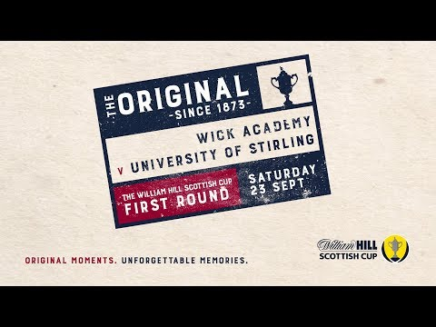 Wick Academy 2 - 2 University of Stirling   William Hill Scottish Cup 2017-18 – First Round