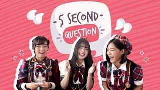 Video 5 Second Questions With JKT48 download MP3, 3GP, MP4, WEBM, AVI, FLV Oktober 2018