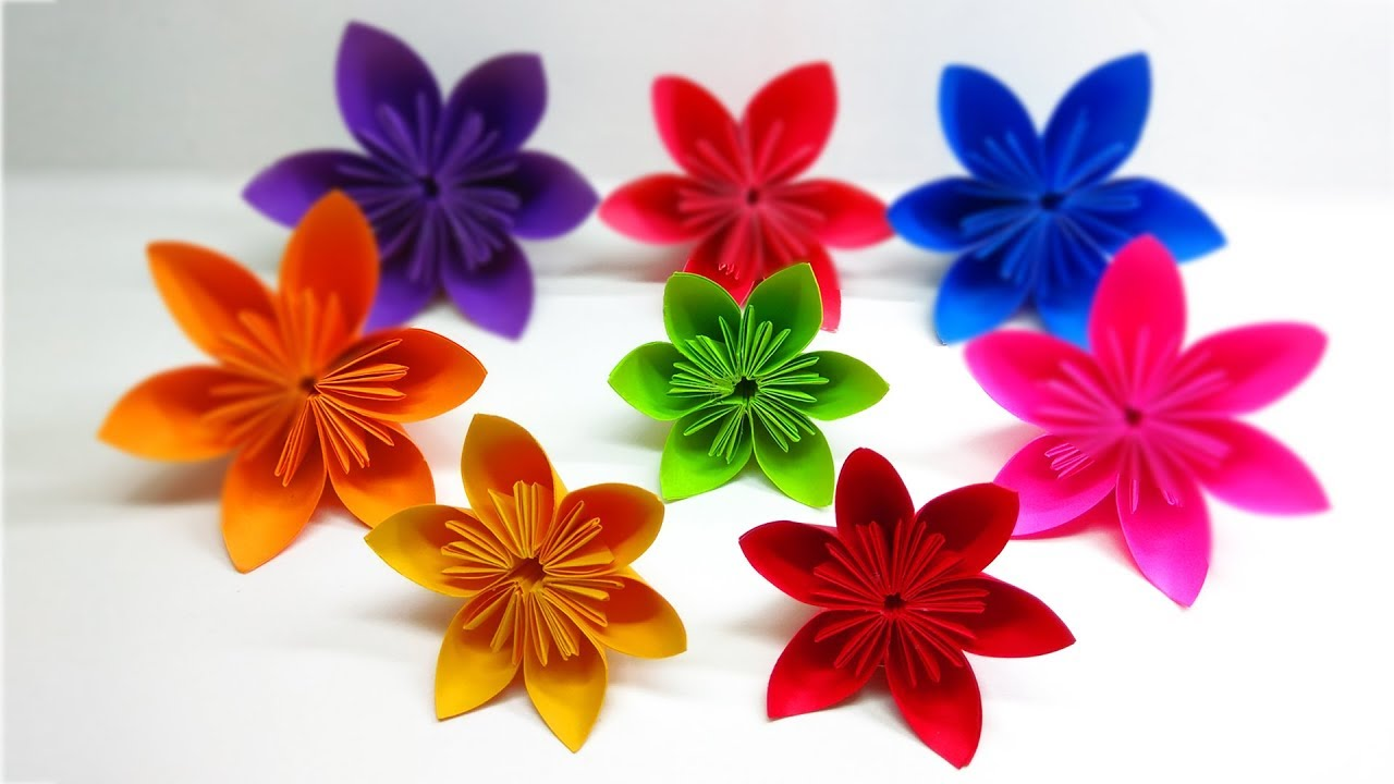 How To Make Kusudama Paper Flowers Tutorial Buy Origami Flowers
