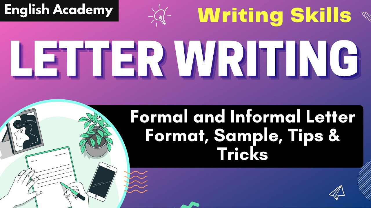 Sample Letter 5th Grade. Formal Letter Writing  CBSE Official Letters Applications Sample YouTube