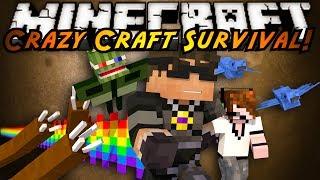 Minecraft Crazy Craft : WHAT IS HAPPENING?!