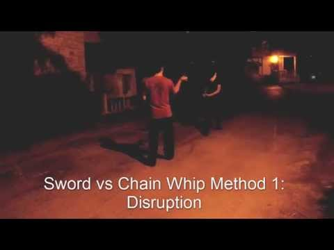 Traditional Chinese Weapon Combat- Broadsword vs Chain Whip