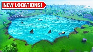 SHARKY SHRUBS FORTNITE LOCATION coming in SEASON 8! OFFICIAL Season 8 Battle Pass Theme Revealed!