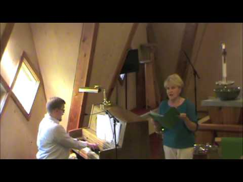 "Vocal Duet, ""The Gift Of Love"" Rosella Thompson & David Klassy"