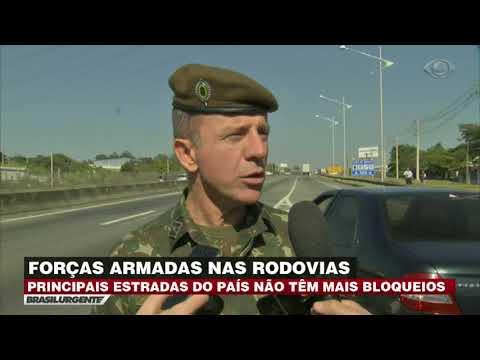 Forças Armadas Desbloqueiam Rodovias Em SP