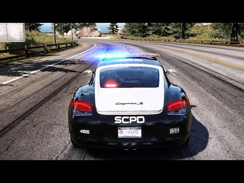 Need For Speed: Hot Pursuit - Porsche Cayman S (Police) - Test Drive Gameplay (HD) [1080p60FPS]