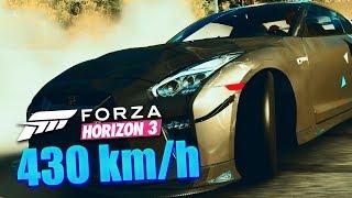 FORZA HORIZON 3 - 430 km/h Rekord | Nissan GT-R