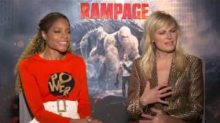 Rampage - Malin Akerman & Naomie Harris