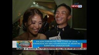 BP: Valedictorian ng PMA class of 2018, pinakasalan ang kasintahan sa araw ng kaniyang graduation