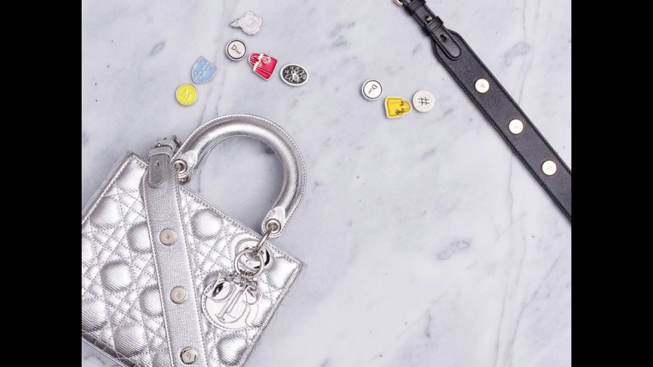 fb5640ea4470 New Customizable arrivals  My Lady Dior CRUISE 2017 - YouTube