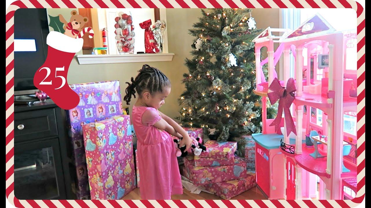 I Got My Barbie House Vlogmas Day 25 Youtube