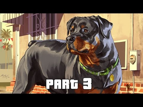 Grand Theft Auto 5 / GTA 5 Walkthrough Gameplay Part 3 - Chop (PS4)