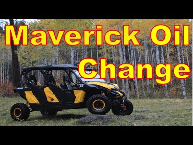 UTV Maintenance: Oil Change Can Am Maverick Max (AND Maverick 1000R 2 Seaters)