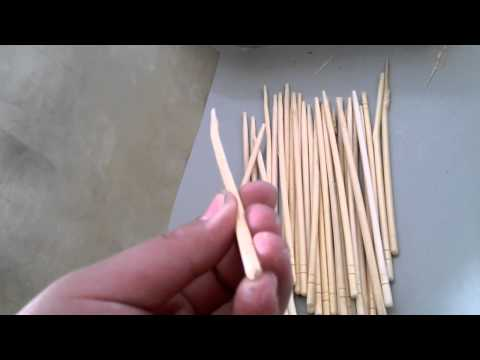 How It Sort The Bamboo Skewer Quality By Machine