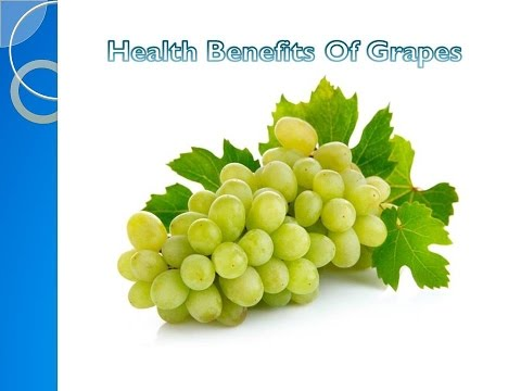 Health Benefits Of Grapes [ HD ]