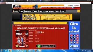 TUTORIAL Como descargar el NBA 2K13 Full para PC (De iBYcharlieHD)