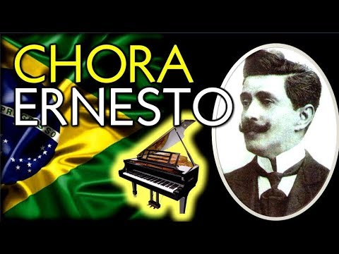 Chora Ernesto  Chorinho Brasileiro ao Piano  Brazilian Choro Piano  - Júlio Hatchwell