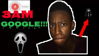 DO NOT TALK TO SIRI/GOOGLE AT 3AM!! SO SCARY!! *GONE WRONG*