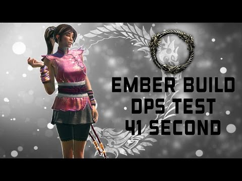 ESO | Stamina DK DPS Test | Ember Build | 41 Second - Youtube On Repeat