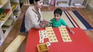 BRIGHT KID DEMO MONTESSORI ACTIVITY