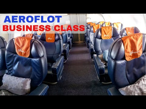 Aeroflot Business Class A320 Flight Review