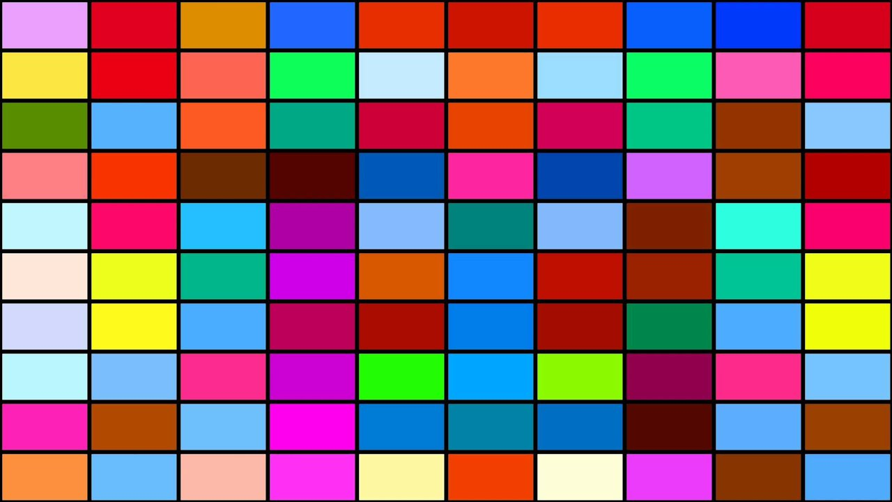 Very Colorful Pixel Background - Free HD Animation - YouTube - photo#35