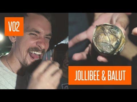 American tries Balut and Jollibee and speaks Bisaya! || VLOGVEMBER 2