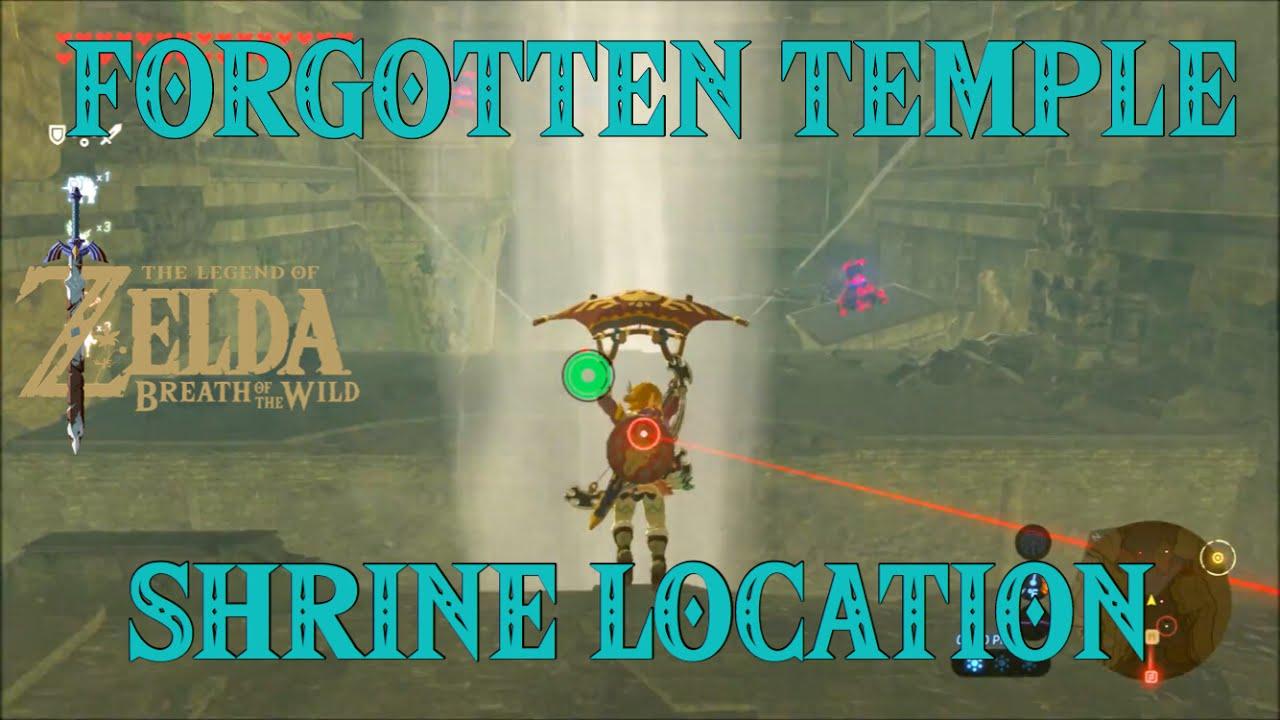 Zelda Botw Forgotten Templerona Kachta Shrine Location
