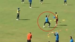 Virat Kohli dancing on the beats of