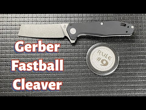 Gerber Fastball Cleaver Knife Review